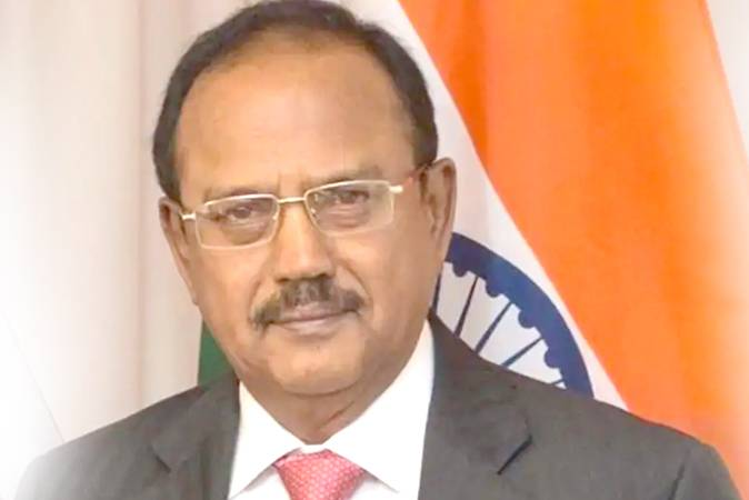 Indian National Security Adviser Ajit Doval here